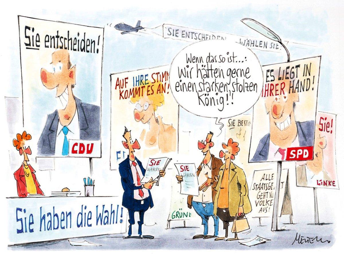 Reminiszenzen aus 16 Jahren CDU/CSU-Herrschaft unter BundeskanzlerinMerkel